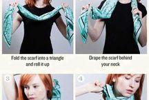 7 manieren hoe je een sjaal kunt dragen