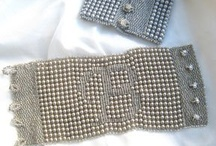 Beading: weave Letters
