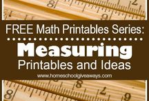 HSG: Math Printables and Freebies