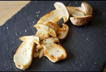 Champignons / Recettes avec des champignons : champignons de Paris, cèpes, girolles, morilles...