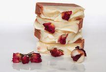 Rózsa-geránium szappan / Handmade soap