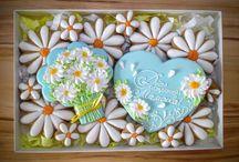 Рисунки на печенье