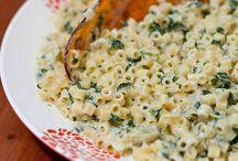 pastas grains quinoa / by Melissa Adams