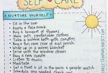 planner ideas self care and journalling