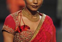 Styling Indian Jewellery / Wearing gold jewellery differently and smartly!