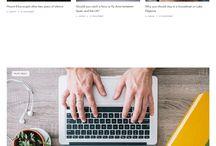 Online Magazine layouts