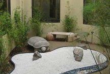 jardin zen interior