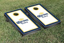 Awesome Cornhole Boards! / Check out these Epic Cornhole Boards for Sport Teams and Brands that I ran Across.  Some of the greatest Corn Hole Boards and Accessories.