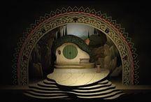 Design / Maquette, diorama, scene design