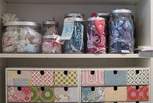 ~ Craft room ideas ~ /  { #craftroom #studio #craftstudio #designstudio #workspace }