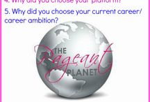 Pageant questions