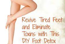 Foot detox soaks