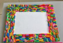 Frame craft idea / This page has a lot of free Frame craft idea for Mother's Day,father's day,christmas