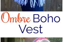 vest and poncho crochet