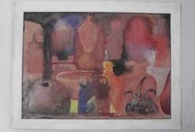 antonio vitor / (1942-2011) pintor, desenhista e escultor brasileiro. Sua obra é marcada pela temática da periferia paulistana.