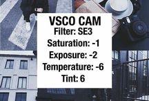 Vsco filter ideas ✨