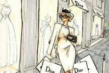 Illustrations de mode