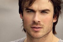 Ian Somerhalder / Ian Somerhalder......one sexy beast  Ian plays Damon Salvatore in The Vampire Diaries  He will playing Doctor Swann in a new Netflix series called V-Wars (which is about vampires)