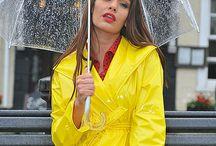 одежда и дождь