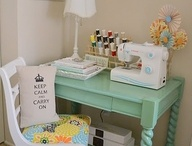 sewing room / by Barbara Konkle