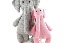 Toys for young or young at heart / Knit or crochet stuffed toys.  As my other boards, no Ravelry pins unless a site defaults there.