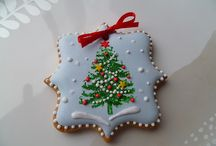 decorated cookies / by Tena Sprenger