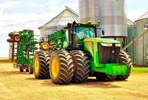 Farming, tractors, transport trucks and trucks