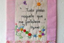 Mensagens em tecido