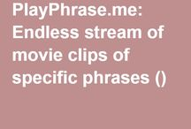 playphrase.me:Endless stream of movie clips of specific phrases