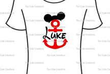 Too Cute Creations-Disney  Shirts