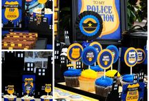 Police party for kids(8 years old Simon)