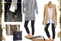 Airplane/travel comfort fashion / by Sae Jackson