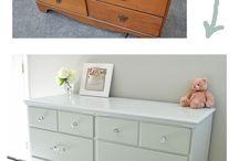 Painting furniture