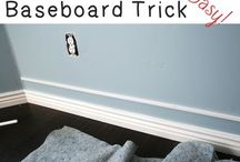 Faux Thicker Baseboard