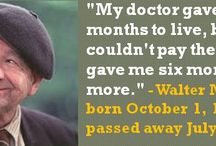 Great Quotes from People Born in October / I love quotes and have always been fascinated with birthdays. This board is people born in October. I do not own the image or the quote. I use Powerpoint and Gimp 2 (free) to make these. I do this for fun. #OctoberBirthdays #Quotes