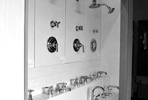 banyo bataryaları showroom stand