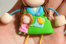 Polymer Clay Dolls and Figures