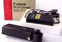 Canon Ni-Cd Charger MA / FN  & Canon High Power Ni-Cd Pack FN #Canon