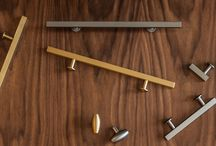 Lewis Dolin on Semihandmade Doors + Ikea Cabinets / We are thrilled to now offer high-quality Lewis Dolin knobs and pulls in multiple sizes and finishes on the website.  All photos are Ikea cabinets with Semihandmade doors.