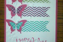 Cartes - papillon potpourri