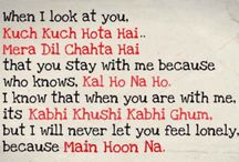 bollywood quotes