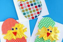 Easter crafts / by Stephanie Ellis