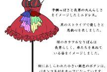おそ松さんドレス