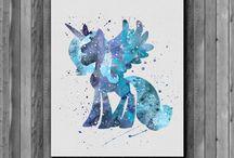 My Little Pony Watercolor