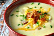 {Food ~ Soups} / Delicious soup recipes