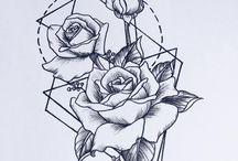 Точечные татуировки