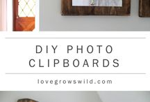 DIY Home Decor / A collection of posts for great and frugal DIY home decor and home projects