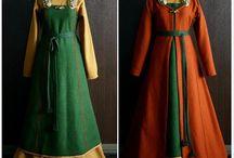 Gamla vackra kläder