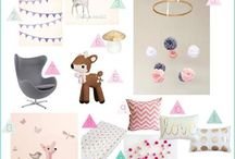 Children's Interior Design Boards