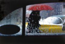 One Colour / Saul Leiter